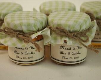 50 Baby Shower Favors or Bridal Shower Favors in Mint Green for Vintage Inspired Wedding