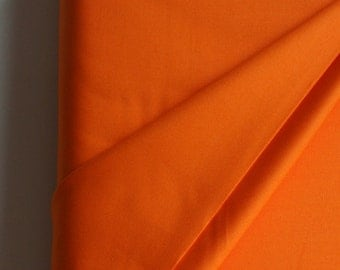 Solid in Burnt Orange from Art Gallery Fabrics Pure Collection. - ONE FAT QUARTER  Cut