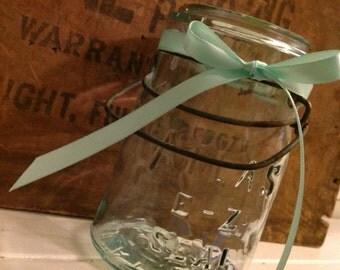 Mint ribbon - Mint satin ribbon. 3/8 Width. Mint green ribbon.  Baby Shower ribbon. Wedding ribbon.  DIY Craft Supplies.