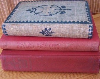 """Vintage Antique Book """"The Days of Auld Lang Syne """" -  """"The Autobiography of William Allen White & """"Beyond the City Lights"""""""
