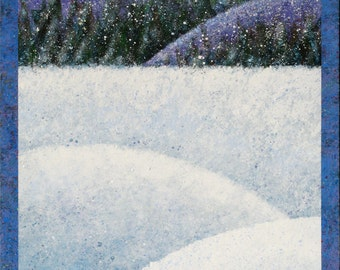 "Winterscape 18x24"""
