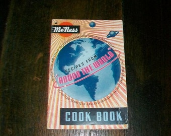 Vintage Cookbook McNess Recipes From Around The World