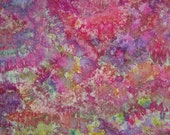 Hand Dyed Fabric, Carnival, 1 1/2 yards (LS) #138