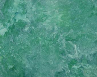Hand Dyed Fabric, Ice Dye, Mermaid Fantasy, Fat Quarter (MH) #92