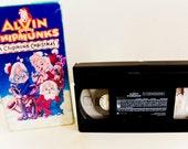 A Chipmunk Christmas VHS video tape - good quality