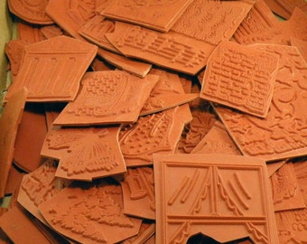 Unmounted Grab Bag of Rubber Stamps