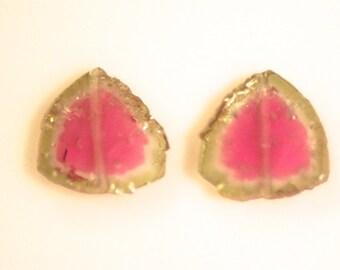 5.5 carats tourmaline slice