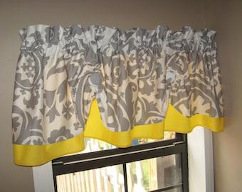 Gray And Yellow Kitchen Curtains Curtain Menzilperde Net