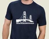 Mackinawesome Bamboo Tee - XL