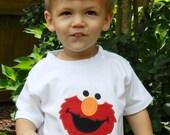 Personalized Elmo Shirt or Bodysuit