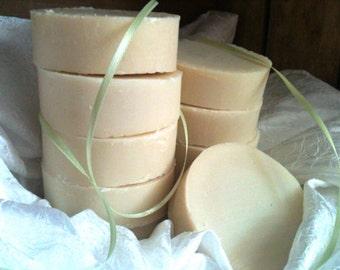 Spearmint-Eucalyptus ALL-NATURAL Soap Loaf & Shampoo, palm-free, wholesale soap, bulk soap, nearly 3 pounds