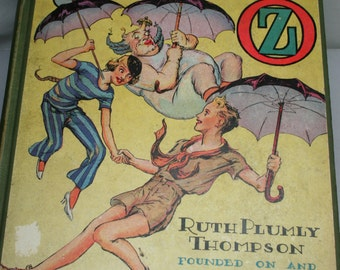 Book - Speedy in Oz  by Ruth Plumly Thompson - 1934