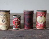 Vintage Tins Kitchen Baking Powder - forgottenPLUM
