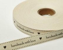 Ivory Ribbon Hand Made  Wedding Favors  Bow Supplies DIY Wedding Gift Wrap Favor Box Ribbon Craft Sewing DIY Wedding Bouquet 5 Yards