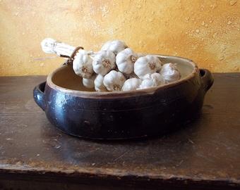 SALE Antique Earthen Ware Baking dish