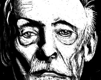 Albert Fish portrait print 5x7