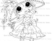 INSTANT DOWNLOAD Digital Digi Stamps Big Eye Big Head Dolls Digi  My - Besties  img224 By Sherri Baldy