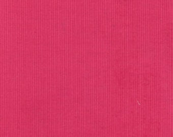 """Candy Pink Baby Wale Corduroy 42"""" Wide 100% Cotton"""