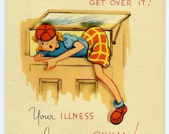 Vintage Get Well Card-Never Get Over It