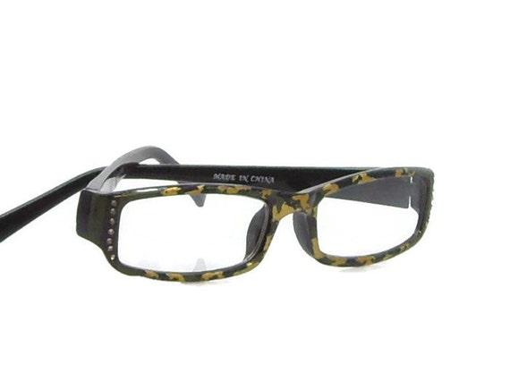 gold camo reading glasses 100 strength glasses
