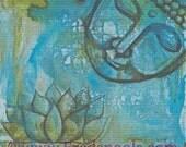Counted Cross Stitch Kit By Pamela K Varacek - Budha