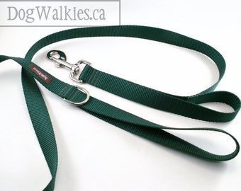 Dog Leash - 2 Handle 4 Foot - Traffic Leash - Training Leash - Control Leash - Two Handle Leash - 1.2 Meter lead