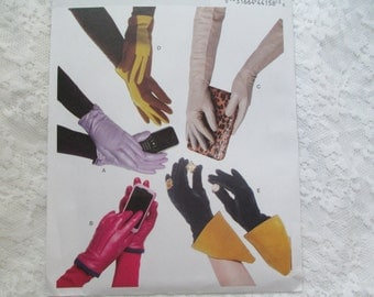 5 PAIR of Gloves Butterick 5695-- Gauntlet-Elbow Length-Wrist-Gloves--New Uncut Factory Folded