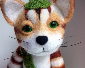 Findus the Cat (felted edition)