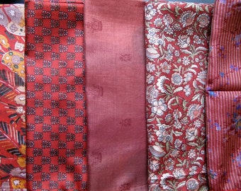 Silk Fat Quarters, Silk Fabric, Sari Silk FQ 93