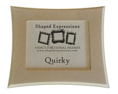 8x10 picture frame - Quirky unfinished