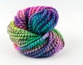 Handspun Yarn - Bulky Bobbles - Multicoloured textured Yarn