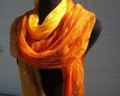Silk Scarf (hand-dyed to order)