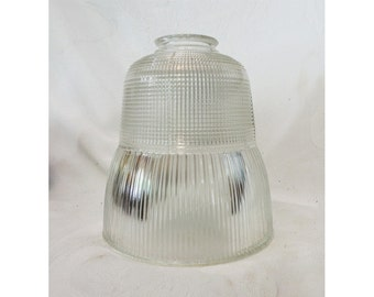 Industrial Glass Shade Holophane 2070 Pendant or Diffuser