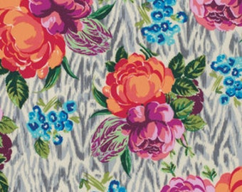 VOILE - Tapestry Rose in Linen - Hapi Collection by Amy Butler - 1 yard, Additional Avail.