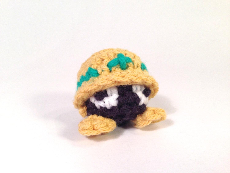Miniature Amigurumi Doll : Met from megaman amigurumi kawaii keychain miniature doll