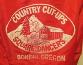 Babs: Country Cut-Ups Square Dancers Boring Oregon Vintage Wind Breaker