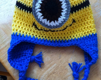 Minion one eyed hat