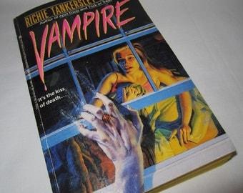 Vampire by Richie Tankersley Cusick - Vintage Paperback Book Horror