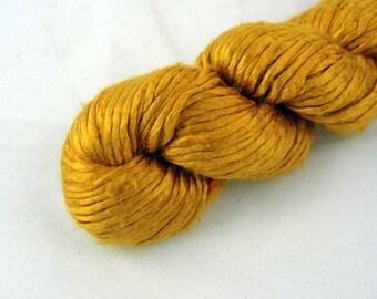 Worsted Weight Silk Yarn, Duke Silk, 50 gm, Gold, Kolar Gold, Fall