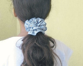 SCRUNCHIE in LIBERTY of London tana lawn, ELOISE print - strong rubber band