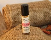 Patchouli Rose Roll-On / 100% Natural / Essential Oil Perfume