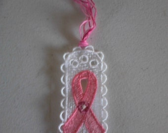 Embroidered Ribbon Bookmarker  (Item# 1453)