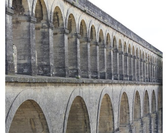 Aqueducts Montpellier France Photo Print
