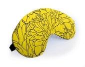 Yellow Marigold Sleep Mask