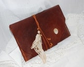 Rusty Memories - Distressed Leather Sleeve - OOAK - e-reader sleeve - Cover - Tablet sleeve - e-book reader cover - e-reader leather sleeve