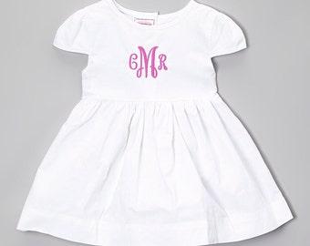 Hot Pink Monogram Dress