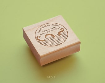 Octopus - Personalize Address Stamp