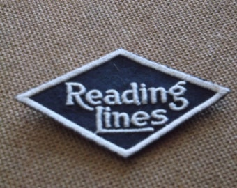 Vintage Reading Lines Railroad Patch