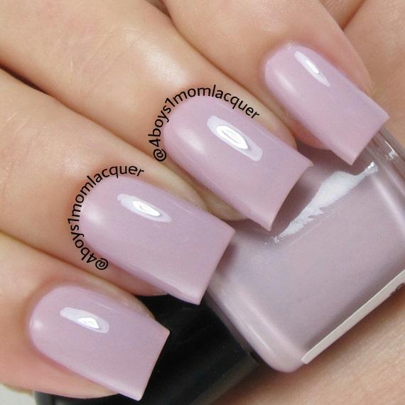 Pink Purple Nail Polish: Pink Purple Mauve Nail Polish From