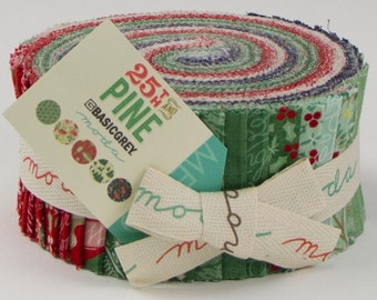 25th and Pine Jelly Roll by BasicGrey for Moda Fabrics